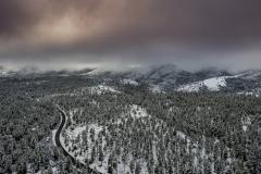 Bradshaw Mountain Snow