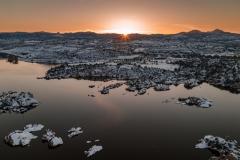 Frozen-Sunburst-Over-Watson-Lake