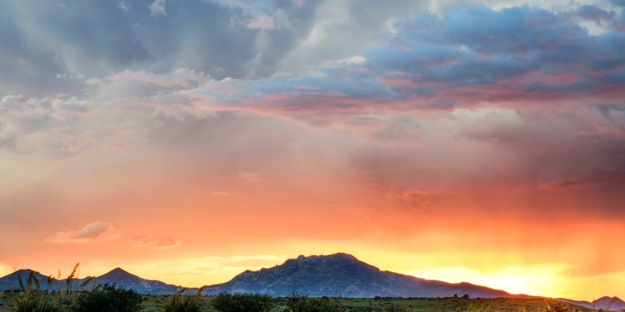 Granite Mountain Sunset