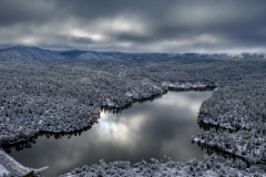 Lynx Lake Snow
