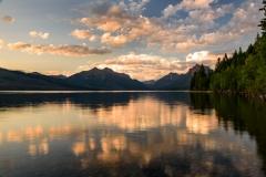 Glacier National Park Lake McDonald Sunset